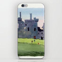 Kilchurn Castle, Scottish Highlands iPhone Skin