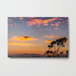 West LA Sunset Metal Print