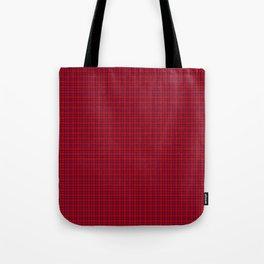 Rose Tartan Tote Bag