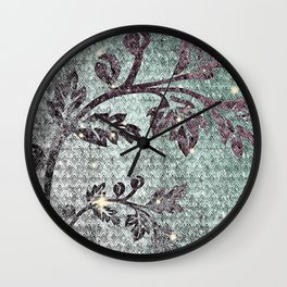 Party theme [Winter Year] Wall Clock