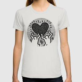Keith Haring - heart T-shirt
