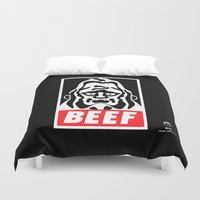 obey Duvet Covers featuring Obey Beef by PeterParkerPA