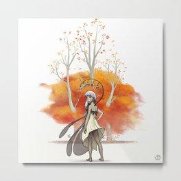 Les trois arbres. Metal Print