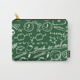 School teacher #8 Carry-All Pouch