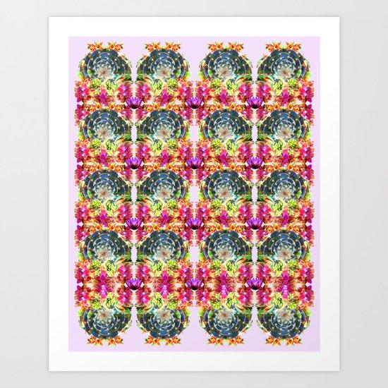 Succulent 1 Art Print