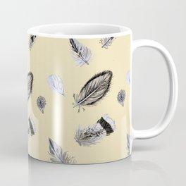 Creamy feathers Coffee Mug