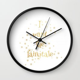 Fairytale 2 Wall Clock