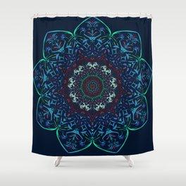 Izzy Resendez artwork Shower Curtain