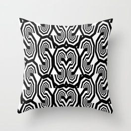 Alphabet Pattern S Throw Pillow