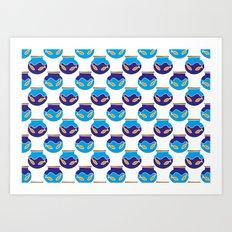 Fish Bowls Art Print
