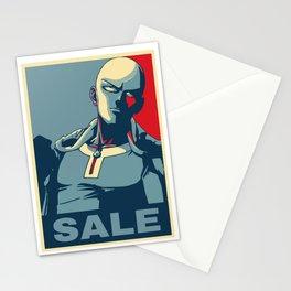 """Saitama """"Sale"""" Stationery Cards"""
