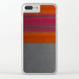 """""""Architecture, cement texture & colorful"""" Clear iPhone Case"""