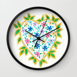 Let Your Love Grow Wall Clock