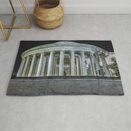 Jefferson Memorial - Side View Rug