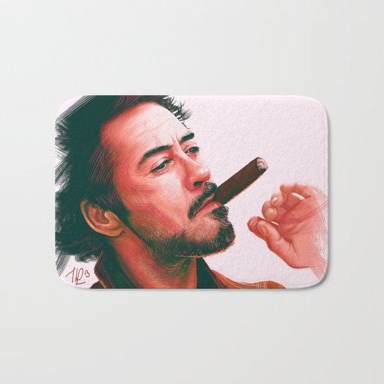Mr Downey, Jr. Bath Mat