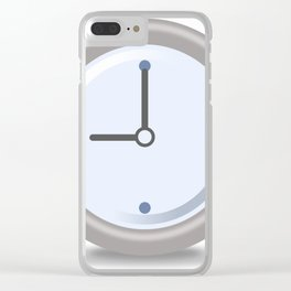 Clock Nine Clear iPhone Case
