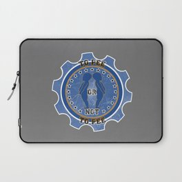 To Pee or not To Pee Laptop Sleeve