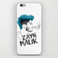 zayn malik iPhone & iPod Skins featuring Zayn Malik by artisticfanny