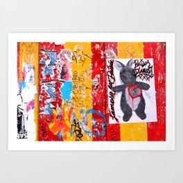 bunny at bowery Art Print