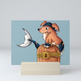 Treasure Retriever Mini Art Print