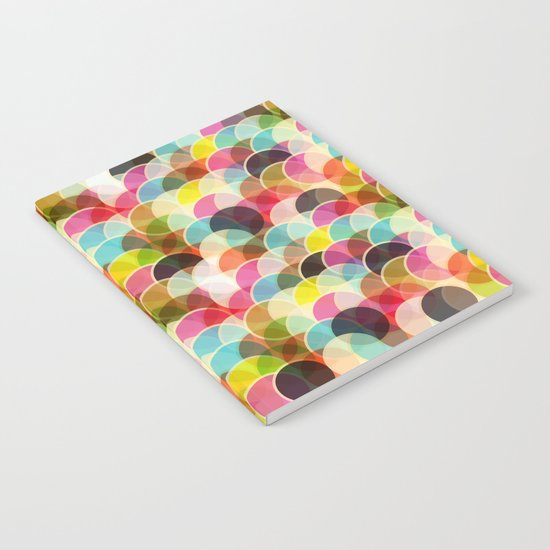 Circle Colorful Notebook