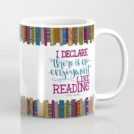 Jane Austen Quote (Deep Colors) Coffee Mug