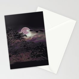 Full Moon III Stationery Cards