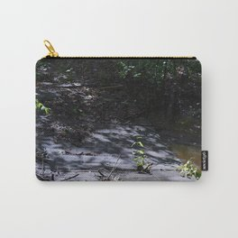 wood bridge over high creek Carry-All Pouch