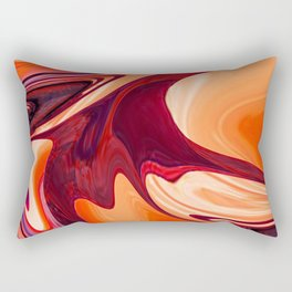 Abstract Fluid 1 Rectangular Pillow