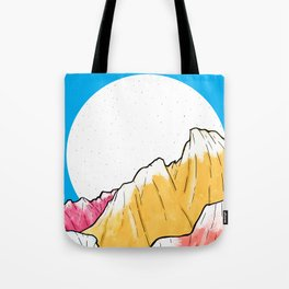 Blue Sky Mountains 2 Tote Bag