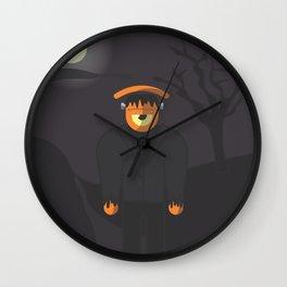 frank.eye.stain Wall Clock