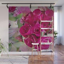 Eternal Rose Bouquet Wall Mural