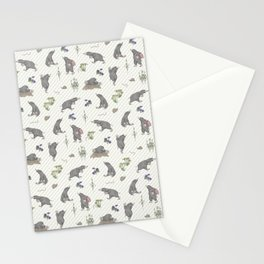 Mole on the way II Stationery Cards