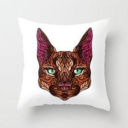 CARACAL WILD CAT Throw Pillow