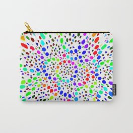 White Psicodelia Carry-All Pouch