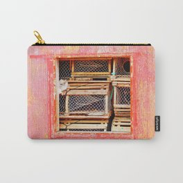 Lobster Trap Shack Carry-All Pouch