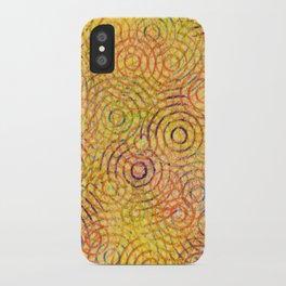 rainbow drizzle iPhone Case