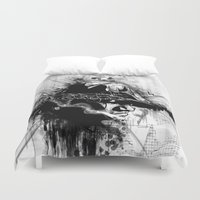biggie smalls Duvet Covers featuring Relax and Take Notes - Biggie Illustration by Skillmatik by Mr Skillmatik
