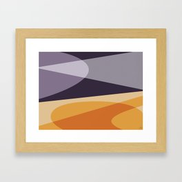 Empty Spaces Framed Art Print