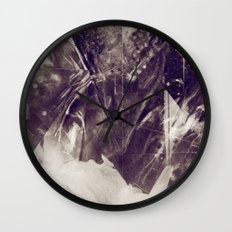Black Crystal Wall Clock