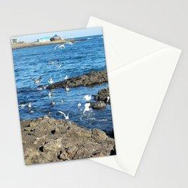 Migratory birds of Jeju sea, korea. Stationery Cards