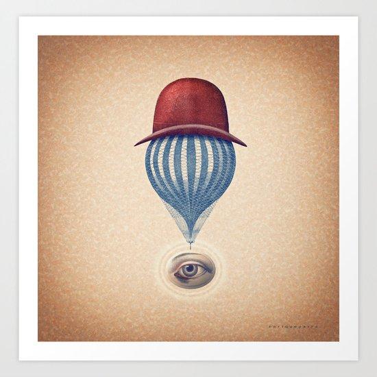 Globo Ocular Art Print