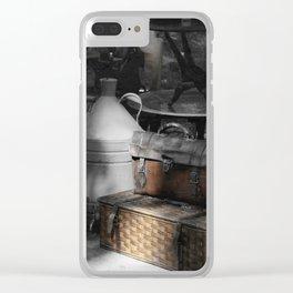 flea market Lisbon Clear iPhone Case