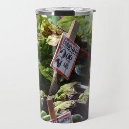 Vegetable Stand - Pike Place Market Travel Mug