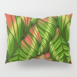 The Dusk Plumed Leaf Pillow Sham