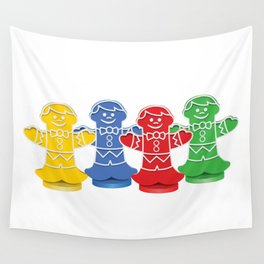 Candy Board Game Figures Wall Tapestry