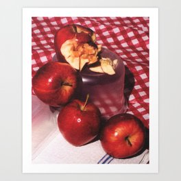 Apples Still Art Print