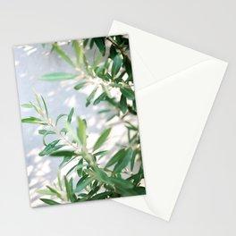 Olive Olive | Fine art botanical photography print | Pastel tones Stationery Cards