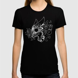 Skull 'n' Roses (NightmareNetty-Black&White) T-shirt