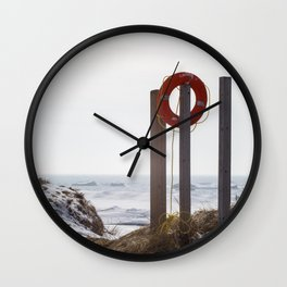 Lake Michigan is safe Wall Clock